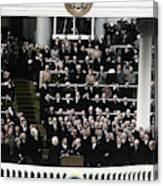Eisenhower Inauguration Canvas Print