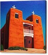 El Corazon Sagrado Canvas Print