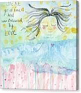 Embraced By Love Canvas Print