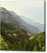 Engineer Pass In Colorado  Canvas Print