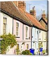 English Cottages Canvas Print