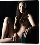 Erotic Woman Canvas Print