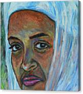Ethiopian Lady Canvas Print