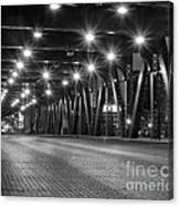 Evening In The City Canvas Print