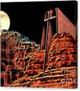 Evening Worship Canvas Print
