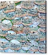 Extinction Wall Canvas Print