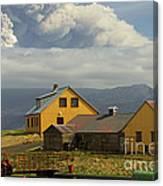 Eyjafjallaj�kull Ash Cloud, Iceland Canvas Print
