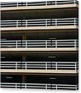 Facade Of Parking Building In Thailand Canvas Print