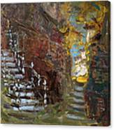 Fall In Albanian Village  Canvas Print