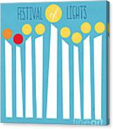 Festival Of Lights Canvas Print