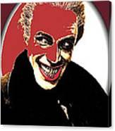 Film Homage Conrad Veidt The Man Who Laughs 1928-2013 Canvas Print