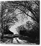 Film Noir Burt Lancaster Robert Siodmak The Killers 1946 Farm House Near Aberdeen Sd 1965 Canvas Print