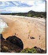 Fingal Beach  Canvas Print