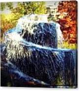Finlay Park Fountain 3 Canvas Print