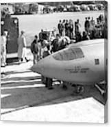 First Supersonic Aircraft, Bell X-1 Canvas Print