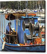 Fishing Boat Canvas Print