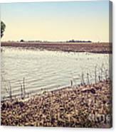 Flooded Farmland Canvas Print