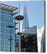 Focus On The Shard London Canvas Print