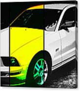 Ford Mustang Gt Canvas Print