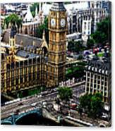 From The Eye Big Ben Canvas Print