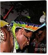 Fulnio Indians Of Brazil  Canvas Print