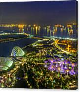 Gardens By The Bay Canvas Print