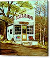 General Store 1902 Canvas Print