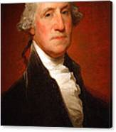 George Washington By Gilbert Stuart -- 2 Canvas Print