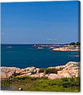 Georgian Bay Coastline Canvas Print