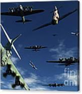 German Sonderkommandos Ram Allied Canvas Print
