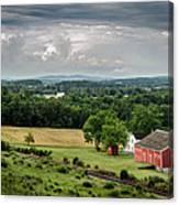 Gettysburg Barn Canvas Print
