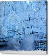 Glacier Collapse Canvas Print
