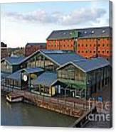 Gloucester Docks Canvas Print
