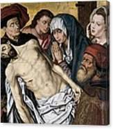Goes, Hugo Van Der, Also Called Hugues Canvas Print