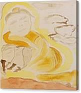 Golden Maiden Canvas Print