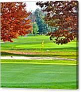 Golf Course Beauty Canvas Print