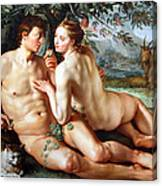 Goltzus' The Fall Of Man Canvas Print