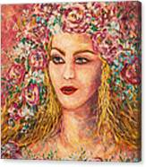 Good Fortune Goddess Canvas Print