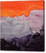 Grand Canyon Original Painting Canvas Print
