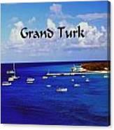 Grand Turk Canvas Print