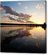Greenlake Sunset Canvas Print
