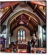 Greensted Church Ongar Canvas Print