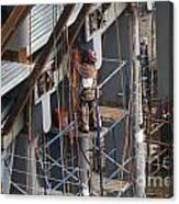 Ground Zero Construction Canvas Print