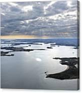 Gulf Of Morbihan, Vannes Canvas Print