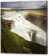 Gullfoss waterfall Iceland Canvas Print