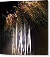 Guy Fawkes Night At Gloucester Quay. Canvas Print