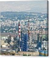 Haifa Petrochemical Plant Canvas Print