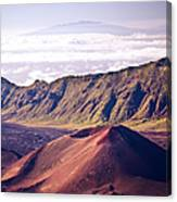 Haleakala Sunrise On The Summit Maui Hawaii - Kalahaku Overlook Canvas Print