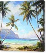 Hanalei Bay Canvas Print