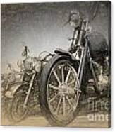 Harley Davidsons Canvas Print